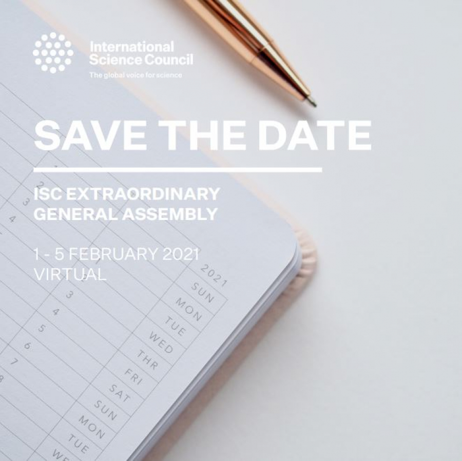 ISC extraordinary General Assembly 1-5 February
